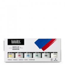 Liquitex : Professional : Acrylic Gouache : 59ml : Primaries Set of 6