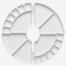 Frank Herring : Crescent Palette : 12 Half Pans and 6 Deep Wells