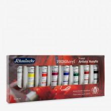 Schmincke : Primacryl Acrylic Paint : Set Of 8 x 35ml Tubes