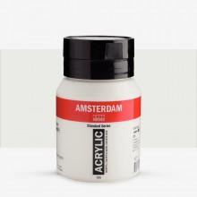 Royal Talens : Amsterdam Standard : Acrylic Paint : 500ml : Titanium White