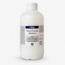 Vallejo : Thick Pouring Medium : 1000ml