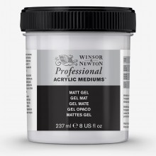 Winsor & Newton : Professional : Acrylic Medium : Matt Gel : 237ml