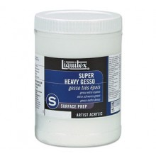 Liquitex : Professional : Super Heavy Gesso Primer : 946ml