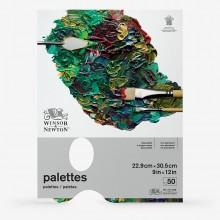 Winsor & Newton : Tear Off Palette : 50 Sheets : 9x12in