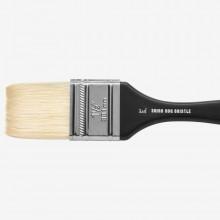 Jackson's : Shiro : Professional Hog Bristle Hair Brush : Mottler : 1.5in