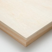 Ampersand : Artist Panel : Unprimed Basswood Panel : Cradled 22mm : 12x12in