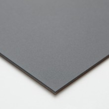 Ampersand : Pastelbord Panel : Gray : 12x12in