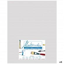 Multimedia Artboard : Pastel Artist Panel : 0.8 mm : 320 Grit : 5 Pack : 11x14in : Light Grey