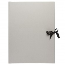 Studio Essentials : Grey Card Presentation Folio : With Ties : A3