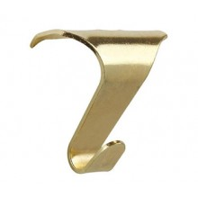 Lion Framing : Hanging and Framing Hardware Brass Plated Picture Rail Hooks : Pack of 2