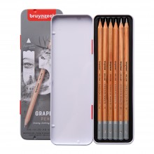 Bruynzeel : Expression Series : Graphite Pencil : Set of 6