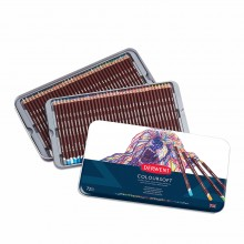 Derwent : Coloursoft Pencil : Metal Tin Set of 72