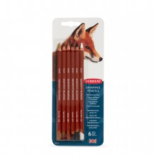 Derwent : Drawing Pencil : Set of 6