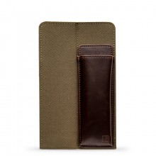 King Jim : Ittsui : Top-In Style Pen Case : Olive