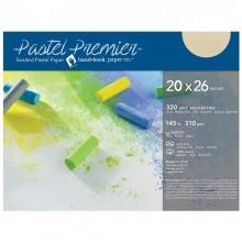 Global : Pastel Premier : Sanded Pastel Paper : Medium Grit : 20x26in :Pack of 10 : Buff