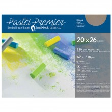 Global : Pastel Premier : Sanded Pastel Paper : Medium Grit : 20x26in : Pack of 10 : Italian Clay