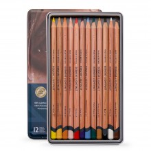 Derwent : Lightfast : Colour Pencil : Tin Set of 12