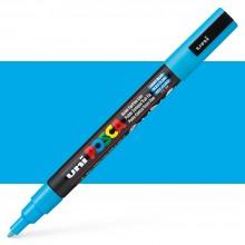 Uni : Posca Marker : PC-3M : Fine Bullet Tip : 0.9 - 1.3mm : Light Blue