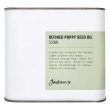 Jackson's : Refined Poppy Seed Oil : 500ml