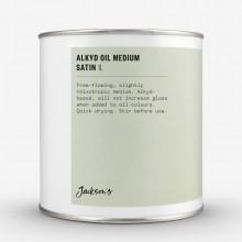 Jackson's : Fast Drying Alkyd Oil Medium : Satin : 1000ml