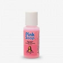 Speedball : Pink Soap : Brush Cleaner : 1oz (29ml)