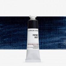 Langridge : Oil Paint : 40ml : Paynes Grey