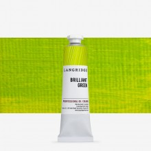 Langridge : Oil Paint : 40ml : Brilliant Green