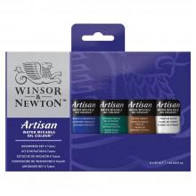 Winsor & Newton : Artisan : Watermixable Oil Colour : Beginners Set : 6x37ml