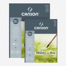 Canson : Moulin du Roy Watercolour Paper Gummed Pads