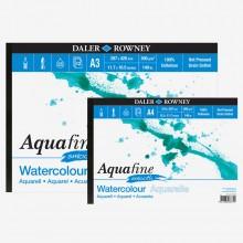 Daler Rowney : Aquafine Watercolour Paper : Gummed Pads : Smooth