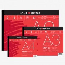 Daler Rowney : Marker Paper : 70gsm Gummed Pads