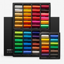 Jackson's : Square Soft Pastels : Half Stick Sets