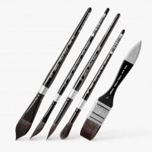 Silver Brush : Black Velvet : Squirrel & Risslon Brush : Series 3000S / 3007S / 3008S / 3009S / 3012S / 3014S / 3025S