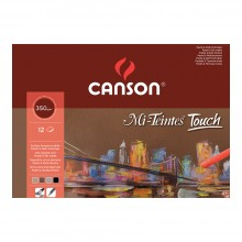 Canson : Mi-Teintes Touch : Pastel Paper Pad : 350gsm : A3