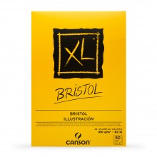 Canson : XL : Bristol : Glued Pad : 180gsm : 50 Sheets : A3