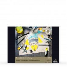 Royal Talens : Rembrandt : Toned Paper Pad : 180gsm : 50 Sheets : A3 : Industrial Grey