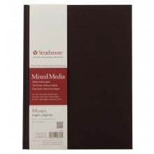 Strathmore : 500 Series : Mixed Media : Hardbound Art Journal : 8.5x11in