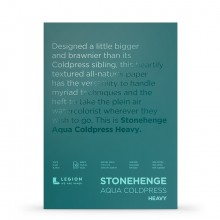 Stonehenge : Aqua Heavy Watercolour Paper Block : 300lb (600gsm) : 10x14in : Not