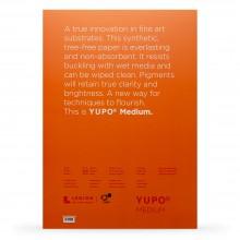 Yupo : Medium Watercolour Paper Pack : 74lb (200gsm) : A3 : 10 Sheets : White