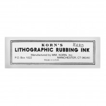 Korn's : Lithographic Rubbing Ink : Hard