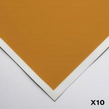 Art Spectrum : Colourfix Smooth : Pastel Paper : 50x70cm : Raw Sienna : Pack of 10