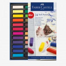 Faber Castell : Square Soft Pastel : Half Stick : Set of 24