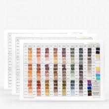 Schmincke : Soft Pastel : Handmade Colour Chart