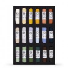 Unison Colour : Soft Pastel : Set of 18 Landscape