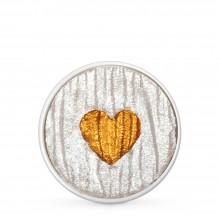 Finetec : Coliro : Pearlcolors : Mica Watercolour Paint : 30mm Refill : Heart of Gold M019