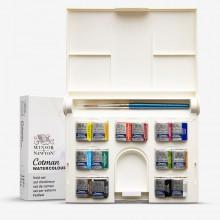Winsor & Newton : Cotman : Watercolour : Compact Set : 14 Half Pans