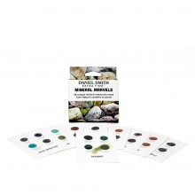 Daniel Smith : Watercolour Dot Card : 36 Mineral Marvels Colours