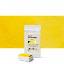 Jackson's : Artist Watercolour Paint : Full Pan : Cadmium Yellow Light