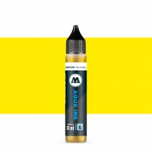 Molotow : Grafx Aqua Ink Refill : 30ml : Primary Yellow #001