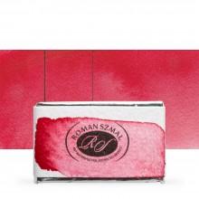 Roman Szmal : Aquarius : Watercolour Paint : Full Pan : Anthraquinone Red